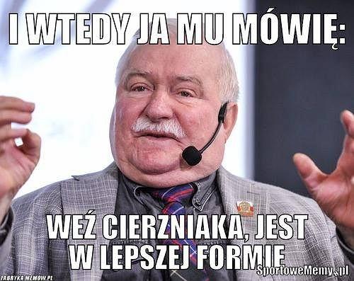 Zdjęcie numer 0 w galerii - Memy po meczu Borussia - Legia. Wyśmiewany Cierzniak i wszędobylski Wałęsa