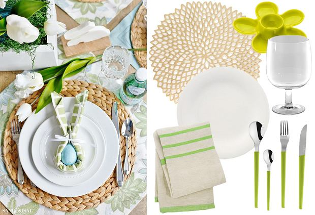 Wielkanoc na stole - zastawa, dekoracje i akcesoria do przygotowania potraw