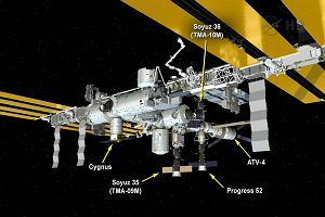 Tłok na stacji kosmicznej. W niedzielę przycumował do niej już piąty statek - Cygnus