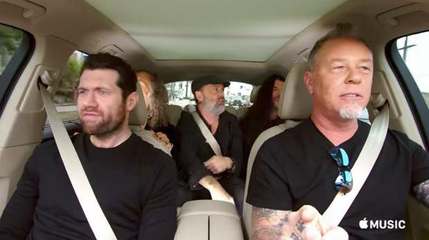 """W sieci właśnie pojawił się zwiastun najnowszego odcinka """"Carpool Karaoke: The Series"""", usłyszeć można na nim członków Metallicy wykonujących kawałek Rihanny. Muzykom towarzyszy komik Billy Eichner."""