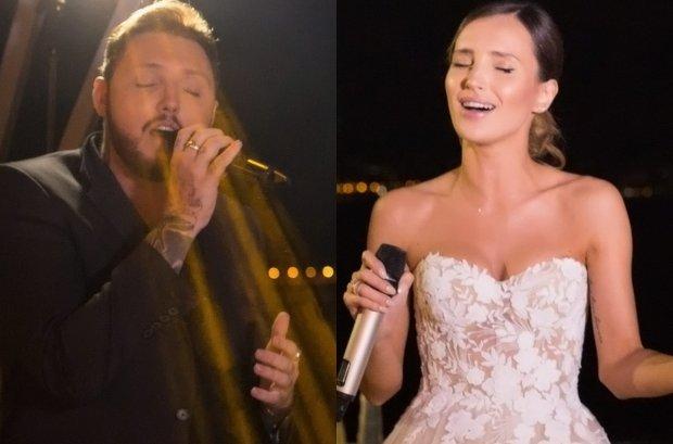 James Arthur nie tylko przyjął zaproszenie na ślub Wojciecha Szczęsnego i Mariny Łuczenko, ale też zrobił pannie młodej piękny prezent i wykonał razem z nią jeden ze swoich utworów.