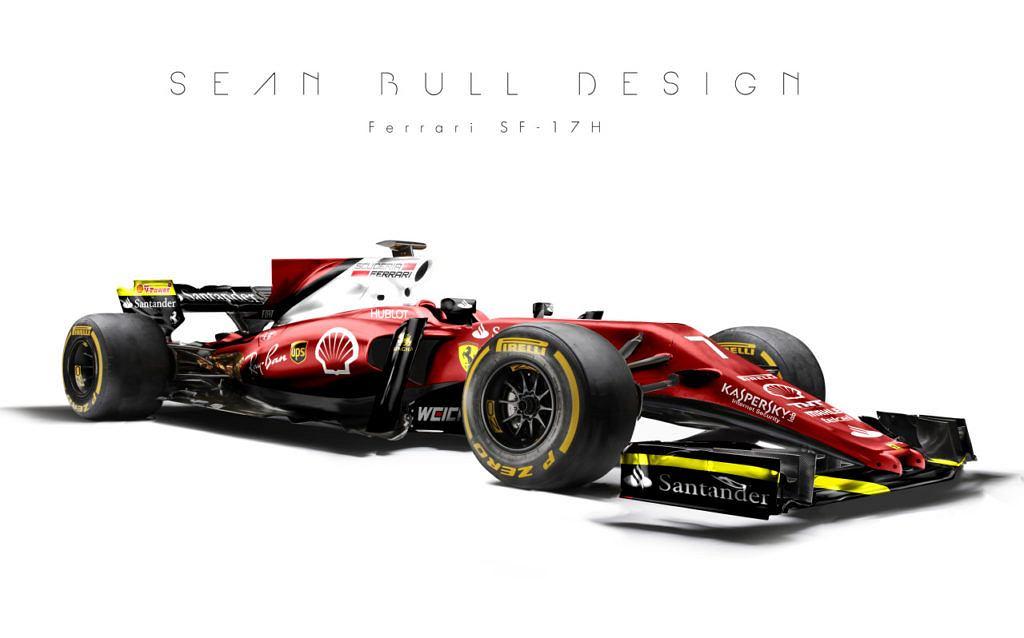 Projekt bolidu Ferrari