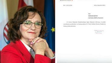 Wojewoda Agata Wojtyszek odmówiła wsparcia WOŚP w Pacanowie bez uzasadnienia.