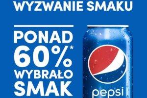 Ponad 60% Polaków wybrało smak Pepsi!