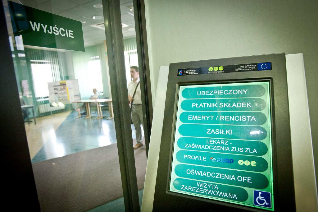 Zakład Ubezpieczeń Społecznych w Białymstoku (fot. Agnieszka Sadowska / Agencja Gazeta)