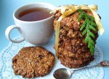 Ciasteczka owsiane z bakaliami - ugotuj