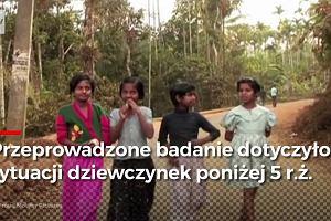 Dramatyczna sytuacja dziewczynek w Indiach. Tysiące umierają przez ogólnokrajową dyskryminację
