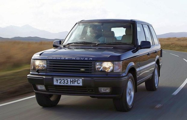 Druga generacja Range Rovera