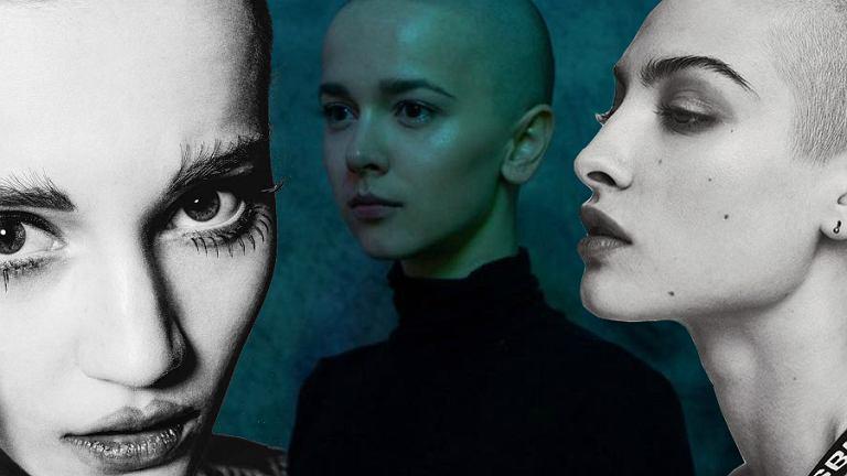 Brak fryzury stał się najmodniejszą fryzurą? Na zdjęciu modelka Lina Hoss, Monika Brodka i twarz marki MISBHV Lera Abova