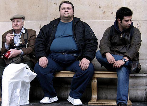'Duży' człowiek jest pogodny, rubaszny? Niekoniecznie, choroby pozbawiają poczucia humoru i życiowej radości