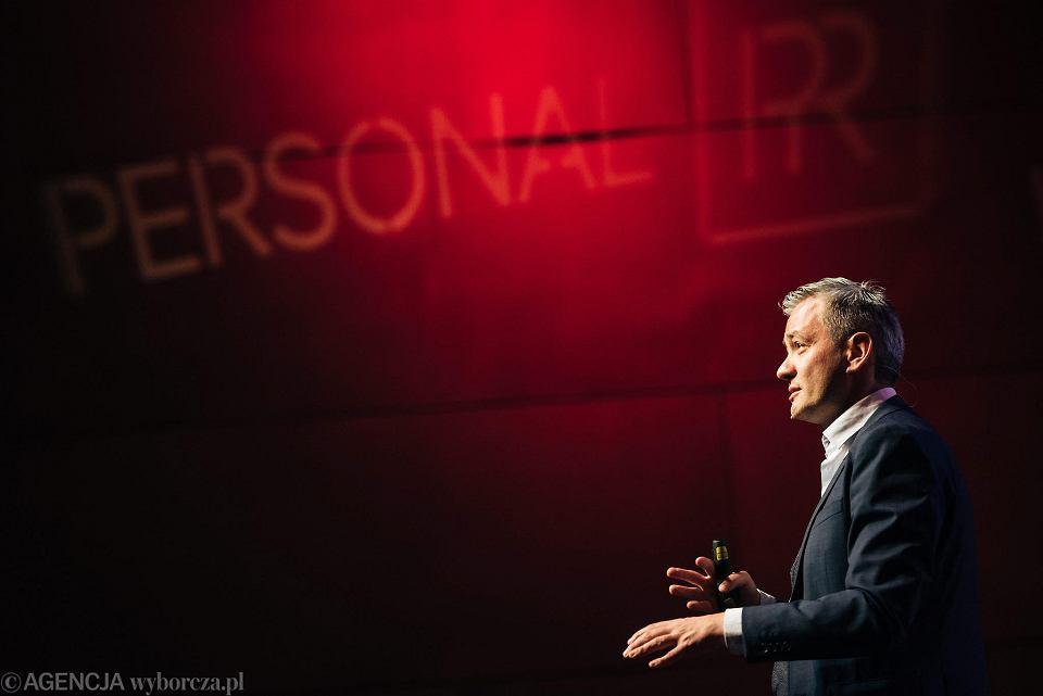 27.04.2017, Gdańsk, Robert Biedroń podczas Social Media Convent.