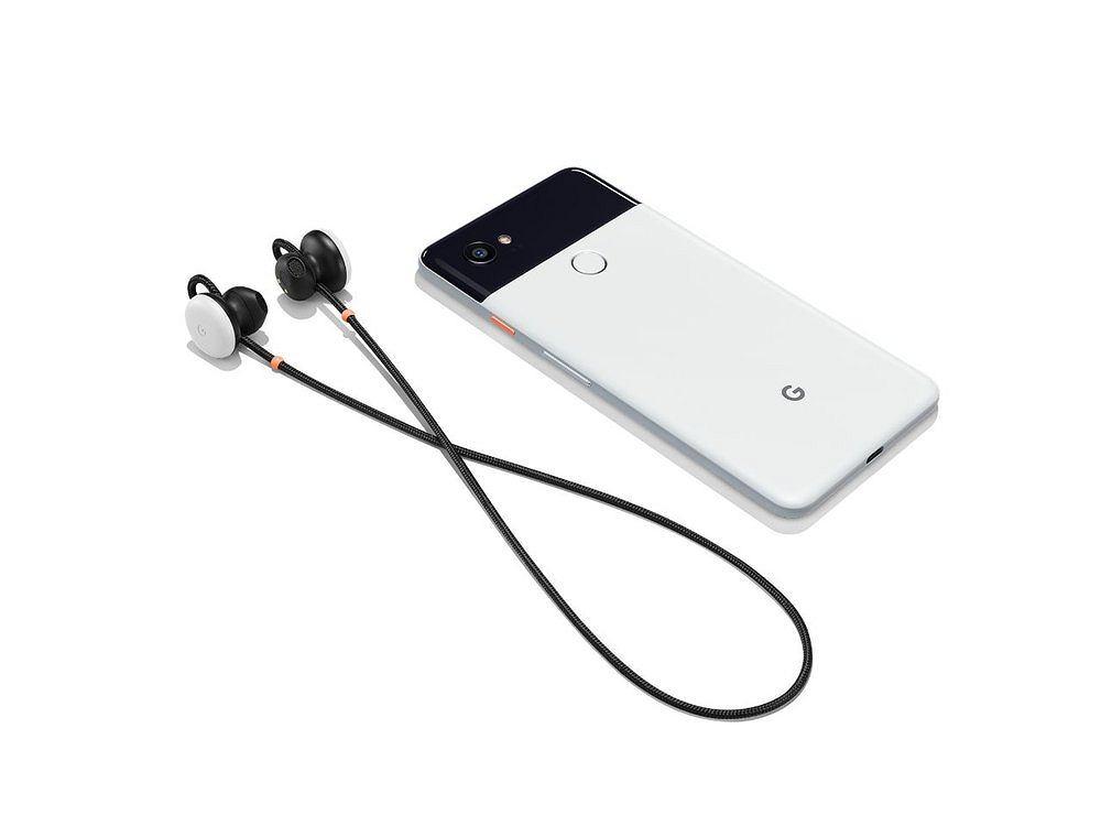 Google Pixel 2 i słuchawki bezprzewodowe Pixel Buds