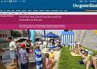 """""""The Guardian"""": warszawskie plaże jedne z najlepszych w Europie"""