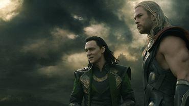 Tom Hiddleston (Loki) i Chris Hemsworth (Thor)