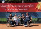 Srebro i brąz płocczan na drużynowych mistrzostwach Polski w tenisie na wózkach