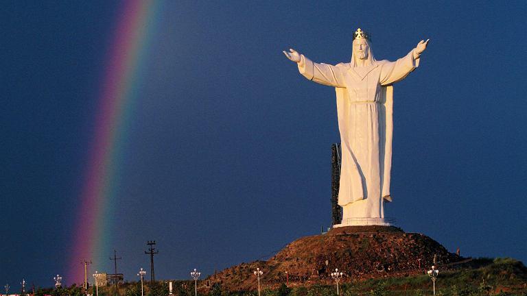 Pomnik Jezusa Chrystusa Króla, Świebodzin.