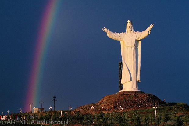 Pomnik Chrystusa Kr�la, �wiebodzin.