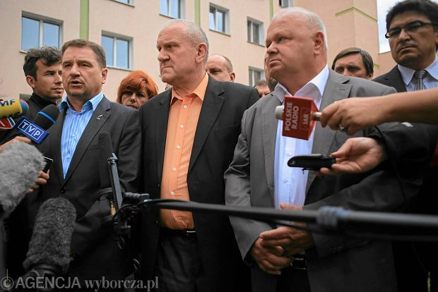 Nie �yje Tadeusz Chwa�ka, szef Forum Zwi�zk�w Zawodowych