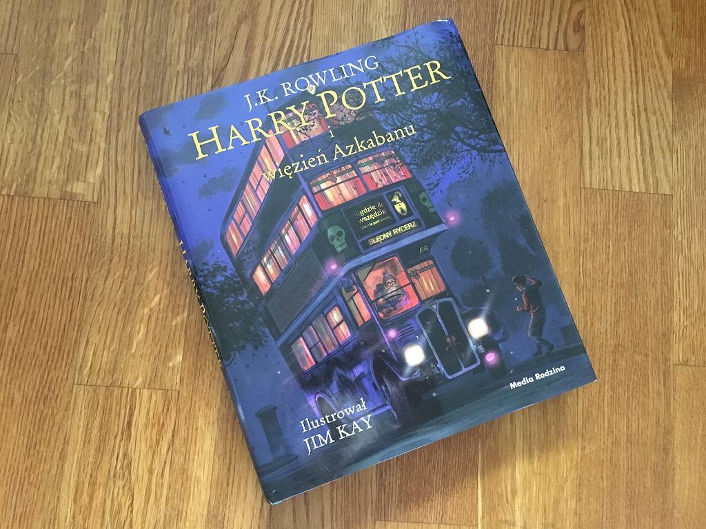 'Harry Potter i więzień Azkabanu', J.K. Rowling, ilustracje Jim Kay, Wydawnictwo Media Rodzina,