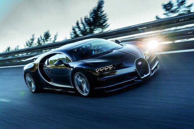 """Bugatti Chiron hybryd�? """"Tak, je�li..."""""""