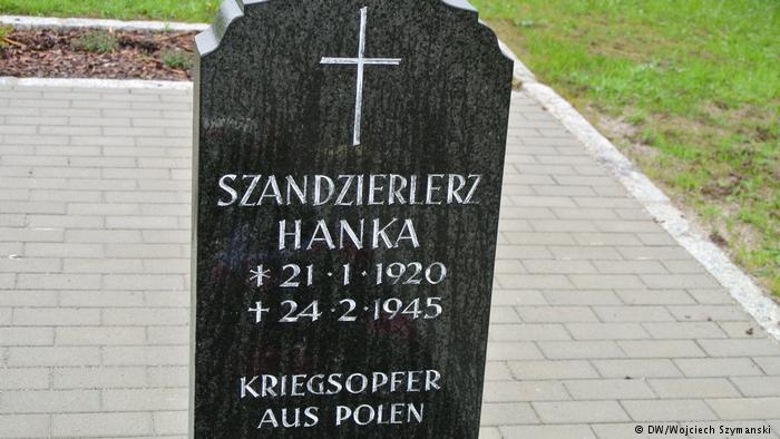 Grób Anny Szendzielarz (fot. Wojciech Szymański/Deutsche Welle)