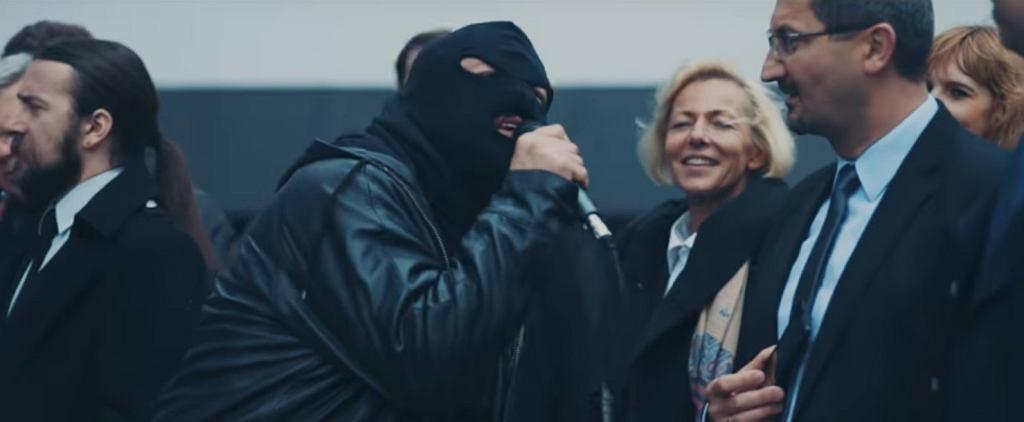 Dr Misio w teledysku do utworu 'Mordor' / screen z YouTube