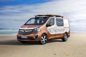 Salon Frankfurt 2015 | Opel Vivaro Surf Concept | Dla aktywnych