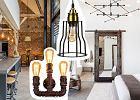 Wyprzedaż lamp w stylu industrialnym - wnętrzarski hit w dużo niższej cenie