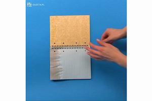Zmokła ci książka lub zeszyt? Dzięki temu trikowi po wyschnięciu będą wyglądać jak nowe!