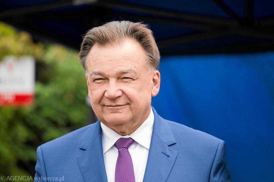 Wybory samorządowe 2018. Adam Struzik może nie być już marszałkiem województwa mazowieckiego.