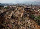 Ziemia się zatrzęsła i Katmandu legło w gruzach
