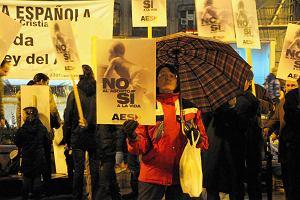 Hiszpania utrudni aborcj�. Opozycja: To prawicowy zamach na prawa kobiet