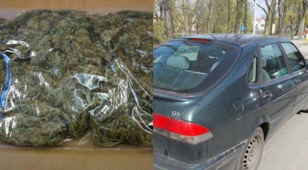 Zapach marihuany zdradził przemytników z Sosnowca. Ukryli ją w... filtrze powietrza