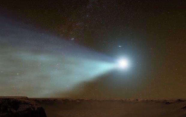 Ju� za chwil� spotkanie Marsa z komet�. Zdarza si� raz na milion lat