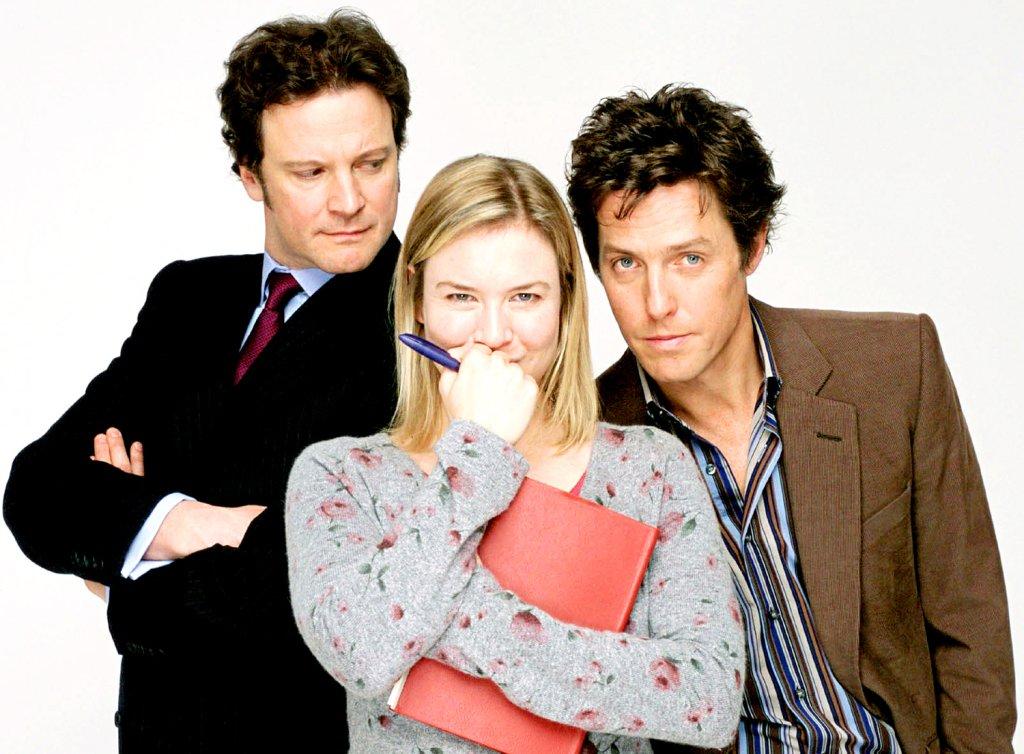 Colin Firth, Renee Zellweger i Hugh Grant / mat. promocyjne