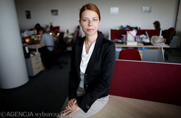 Lucyna Ple�niar, prezes agencji People