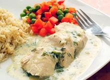 Filet z kurczaka w sosie koperkowym - ugotuj
