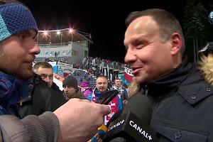Andrzej Duda o WOŚP: Wspieramy, z żoną wrzuciliśmy pieniądze do puszki