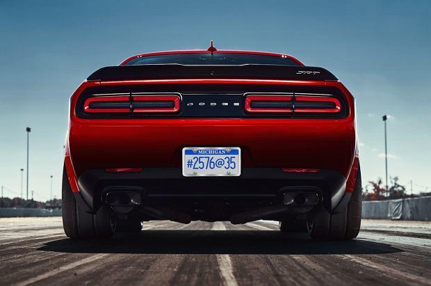Dodge Challenger SRT Demon   Tak wyje bestia!