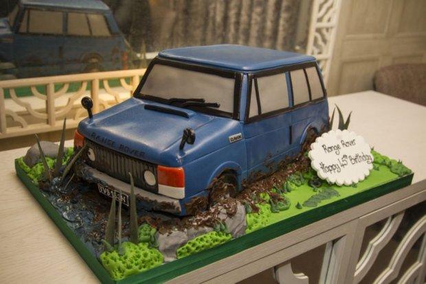 Tort na 45 urodziny