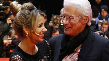 Richard Gere i Alejandra Silva na Berlinale 2017