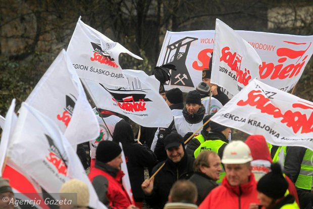 """Oszustwo w """"Solidarności""""? Podwójna faktura za wyżywienie górników podczas strajku"""