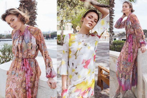 Boho sukienki idealne na lato