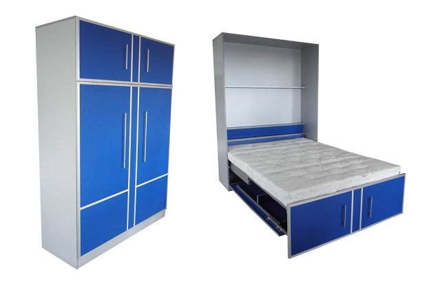 ko chowane w szafie spos b na ma y metra zdj cie nr 8. Black Bedroom Furniture Sets. Home Design Ideas