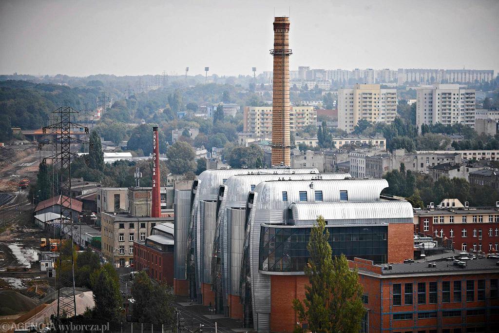 Odnowiona elektrociepłownia EC1 w Łodzi