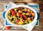Falafele w warzywach