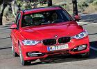BMW Seria 3 Touring [F31] 12-, rok produkcji 2012, kombi, widok przedni prawy, samoch�d 5-drzwiowy, kolor czerwony jasny