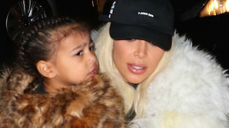 North West, Kim Kardashian,