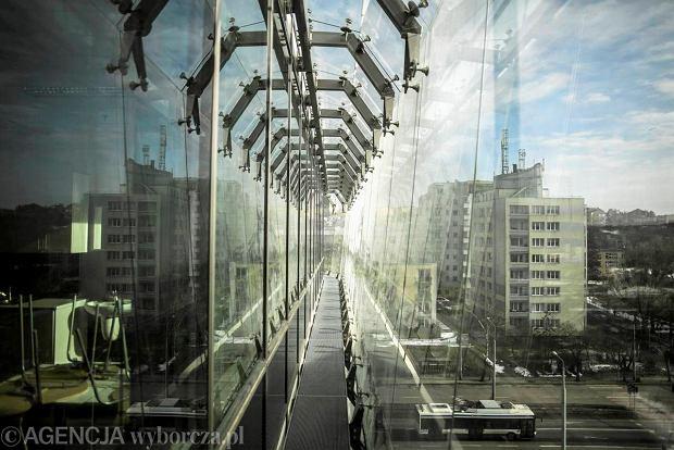 27.02.2013 Gdynia . Pomorski Park Naukowo Technologiczny w Gdyni ,  fot. Lukasz Glowala / Agencja Gazeta