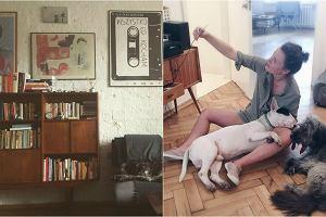 Olga Frycz stroni od sztampy, nudy i banału. Zero nowoczesnego wzornictwa i mebli z meblowych marketów. Zamiast tego stare meble z duszą i ciekawe dodatki. Z pozoru nic tu do siebie nie pasuje, ale przy uważnym wejrzeniu właśnie ten pozorny chaos nadaje jej mieszkaniu niezwykły klimat. Olga Frycz zaprojektowała swoje mieszkanie z fantazją.